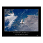 Shuttle-iss005e21472 Poster