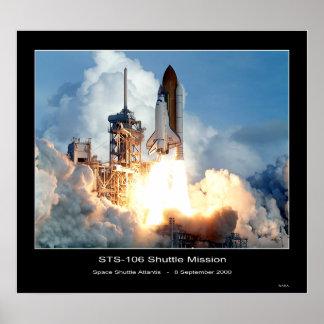 Shuttle-ksc_00pd_1263 Poster