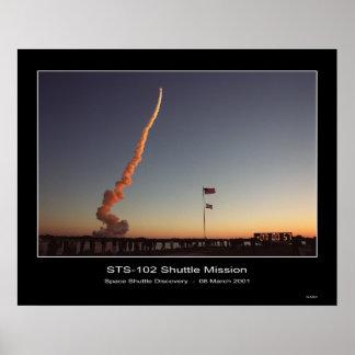 Shuttle-ksc-01pp-0437 Póster