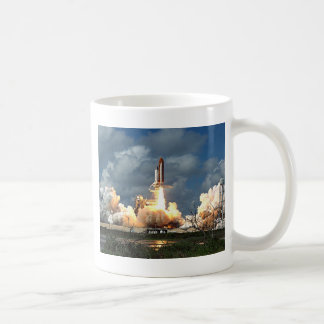 shuttle launch coffee mug