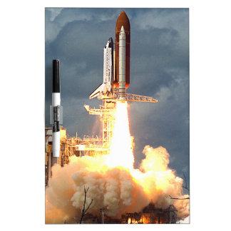 Shuttle Launch Dry Erase Whiteboards