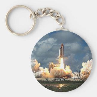 shuttle launch keychain
