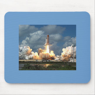 shuttle launch mouse pad