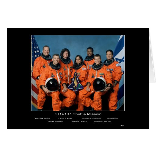 Shuttle Mission STS 107 Greeting Cards