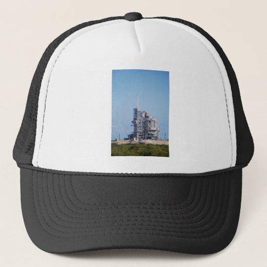 Shuttle on Launch Pad Trucker Hat
