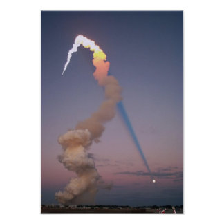 Shuttle Plume Shadow Posters