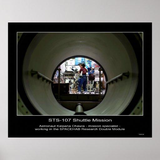 Shuttle-s107e05103 Póster