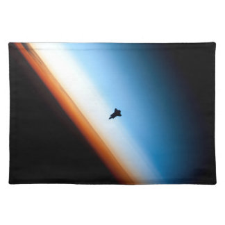 Shuttle Silhouette Placemat