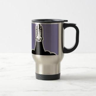 Shuttle start travel mug