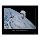 Shuttle-sts100-347-025 Posters