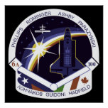 Shuttle-sts100-s-001 Poster