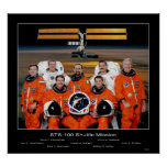 Shuttle-sts100-s-002 Posters