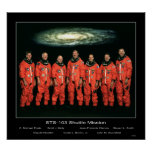 Shuttle-sts103s002 Posters