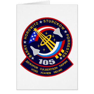 Shuttle-sts105-s-001 Card