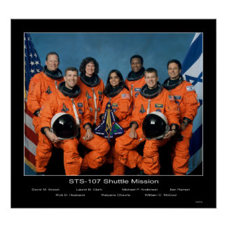 Shuttle-sts107-s-002 Posters