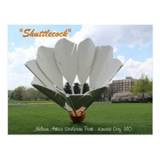 Shuttlecock # 2 postcard