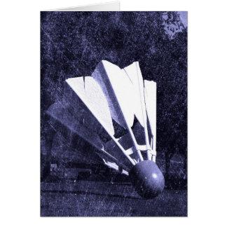 Shuttlecock Blues Card