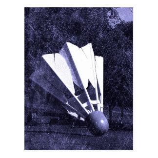 Shuttlecock Blues Postcard