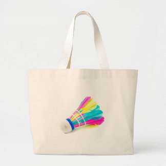 Shuttlecock Large Tote Bag
