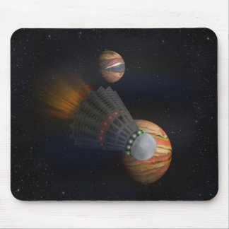 Shuttlecock Space Shuttle Mouse Pad