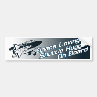ShuttleHugger On Board Bumper Sticker