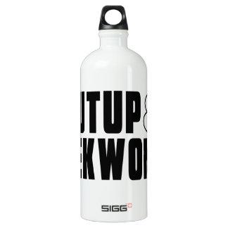 SHUTUP AND TAEKWONDO DESIGNS SIGG TRAVELER 1.0L WATER BOTTLE