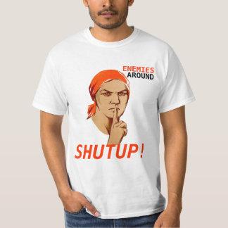 SHUTUP!, ENEMIES, AROUND T-SHIRT