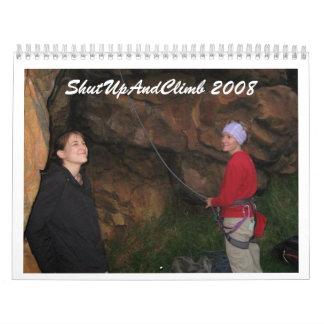 ShutUpAndClimb 2008 Calendarios