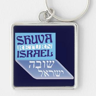 Shuva Israel Keychain