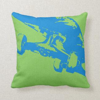 Shuvit Shove-It Skateboard Pillow Grey Lt Blue