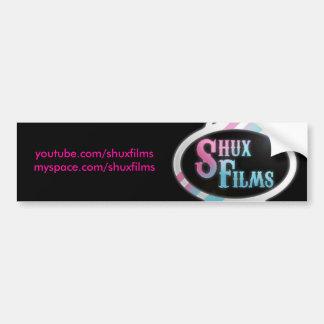 Shux Films Bumper sticker Car Bumper Sticker