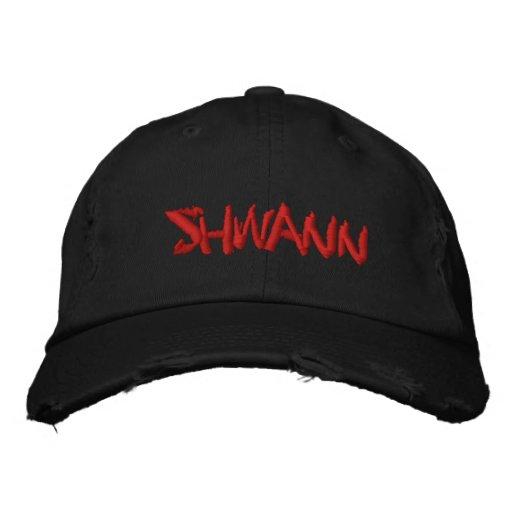 SHWANN Logo Embroidered Baseball Caps
