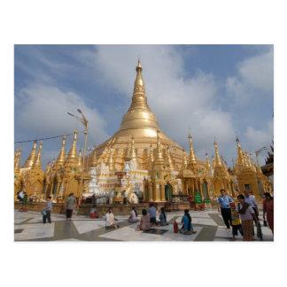 Shwe Dagon Pagoda Postcard
