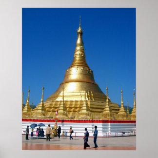 Shwe Dagon Pagoda Poster