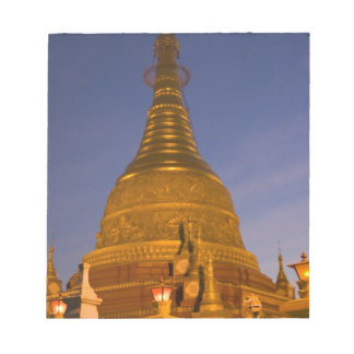 Shwe Myin Tin Temple, dusk, Make Tehi Lar, Notepad