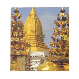 Shwe Zigon Pagoda complex in Bagan (Pagan), Notepad