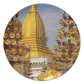 Shwe Zigon Pagoda complex in Bagan (Pagan), Plate