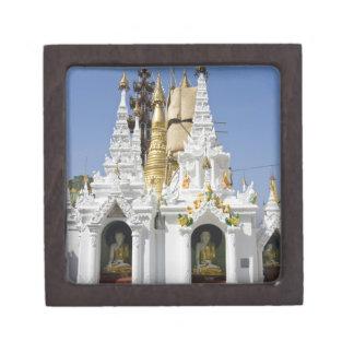 Shwedagon Pagoda (Paya), large temple site that 2 Keepsake Box