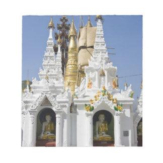 Shwedagon Pagoda (Paya), large temple site that 2 Memo Note Pads