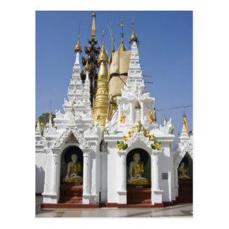 Shwedagon Pagoda (Paya), large temple site that 2 Post Card