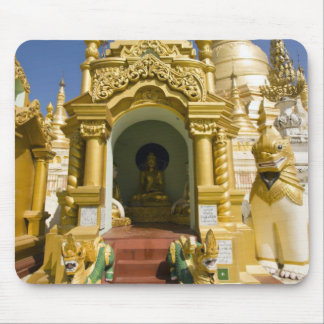 Shwedagon Pagoda (Paya), large temple site that 4 Mouse Pad