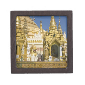 Shwedagon Pagoda (Paya), large temple site that Jewelry Box