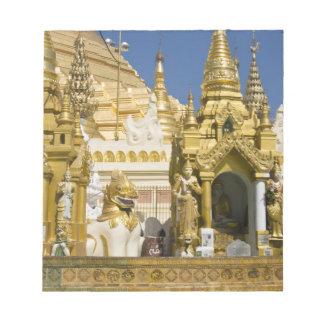 Shwedagon Pagoda (Paya), large temple site that Notepad