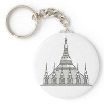 Shwedagon Pagoda World landmarks Keychain