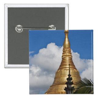 Shwedagon Pagoda, Yangon, Myanmar Pinback Button