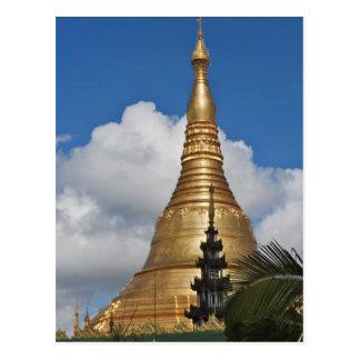 Shwedagon Pagoda, Yangon, Myanmar Post Card