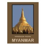 Shwedagon Pagoda Yangon Myanmar Postcards