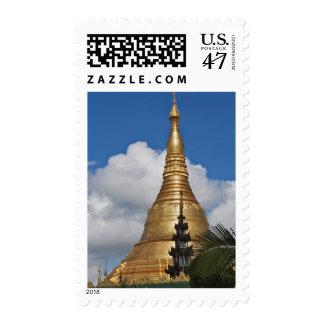Shwedagon Pagoda, Yangon, Myanmar Stamp