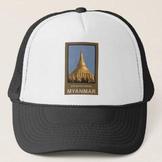 Shwedagon Pagoda Yangon Myanmar Trucker Hat