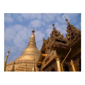 Shwedagon Paya PICT3895 Post Card